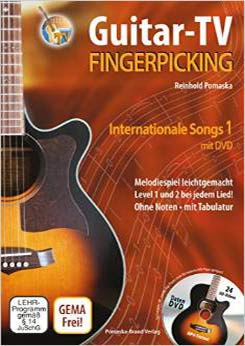 Buch Fingerpicking, internationale Songs Bd.1