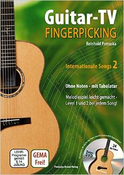Buch Guitar-TV-Fingerpicking Band 2